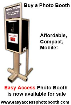 Easy Access Photo Booth For Sale